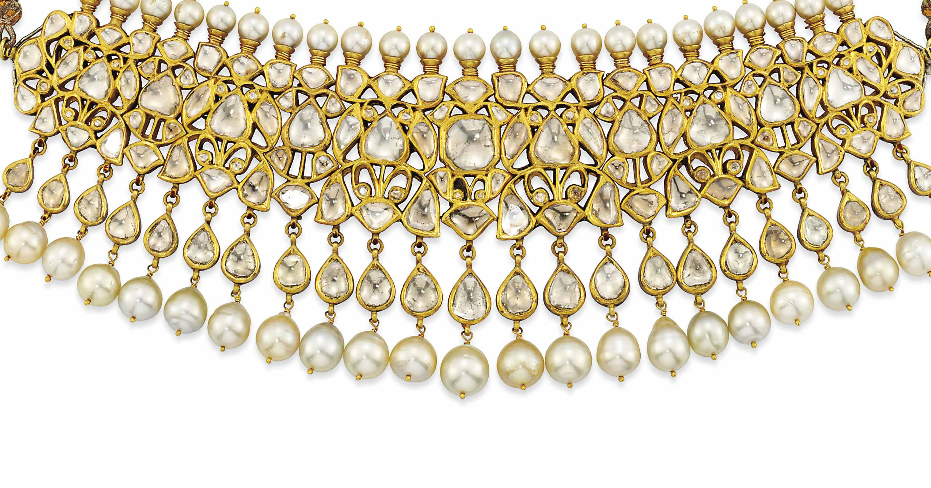 AN INDIAN CULTURED PEARL, ENAM