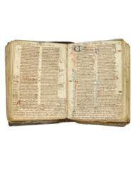 BIBLE, with Prologues, in Lati