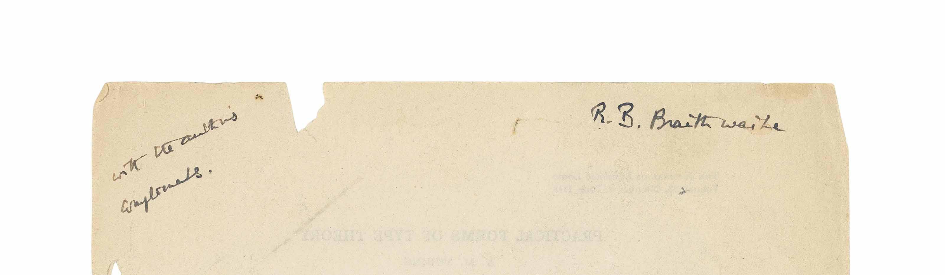 TURING, Alan Mathison (1912-19