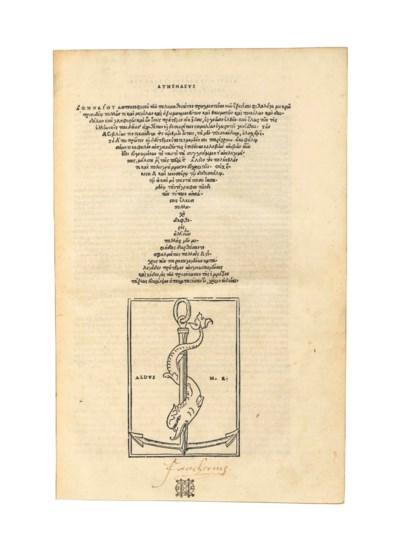 ATHENAEUS of Naucratis (fl. c.