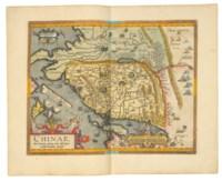 ORTELIUS, Abraham (1527-1598). Theatrum orbis terrarum. -Parergon. -Nomenclator ptolemaicus. Antwerp: Joannes Moretus at the Officina Plantina, 1601.