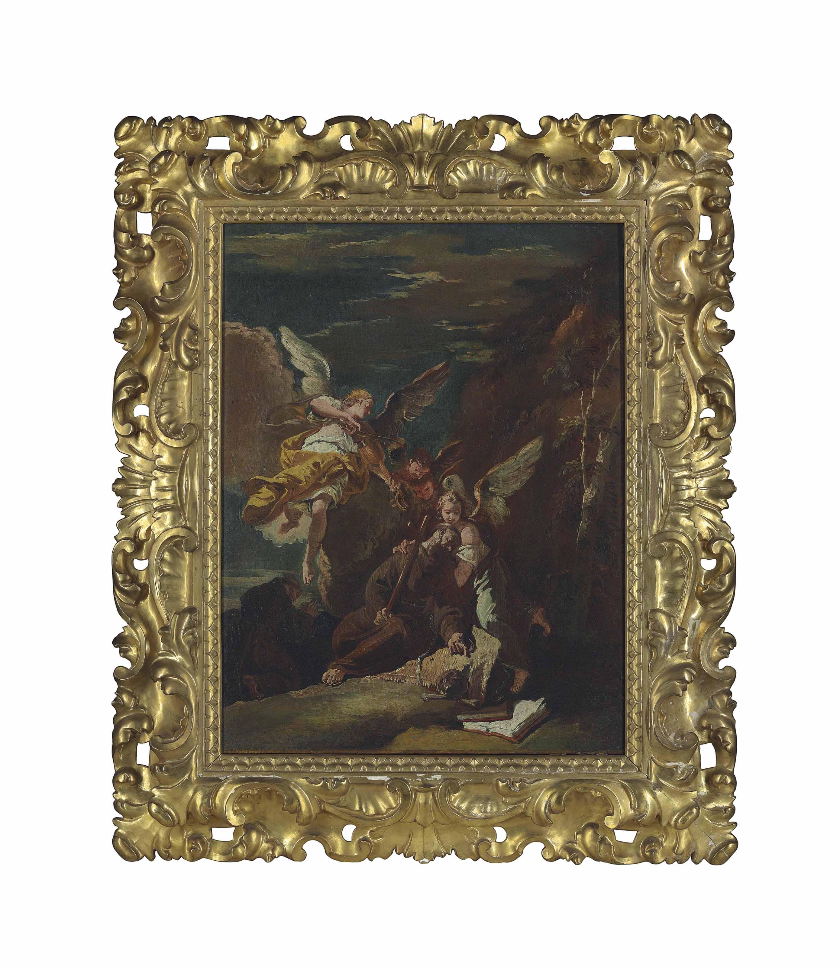 Attributed to Francesco Fontebasso (Venice 1707-1769)
