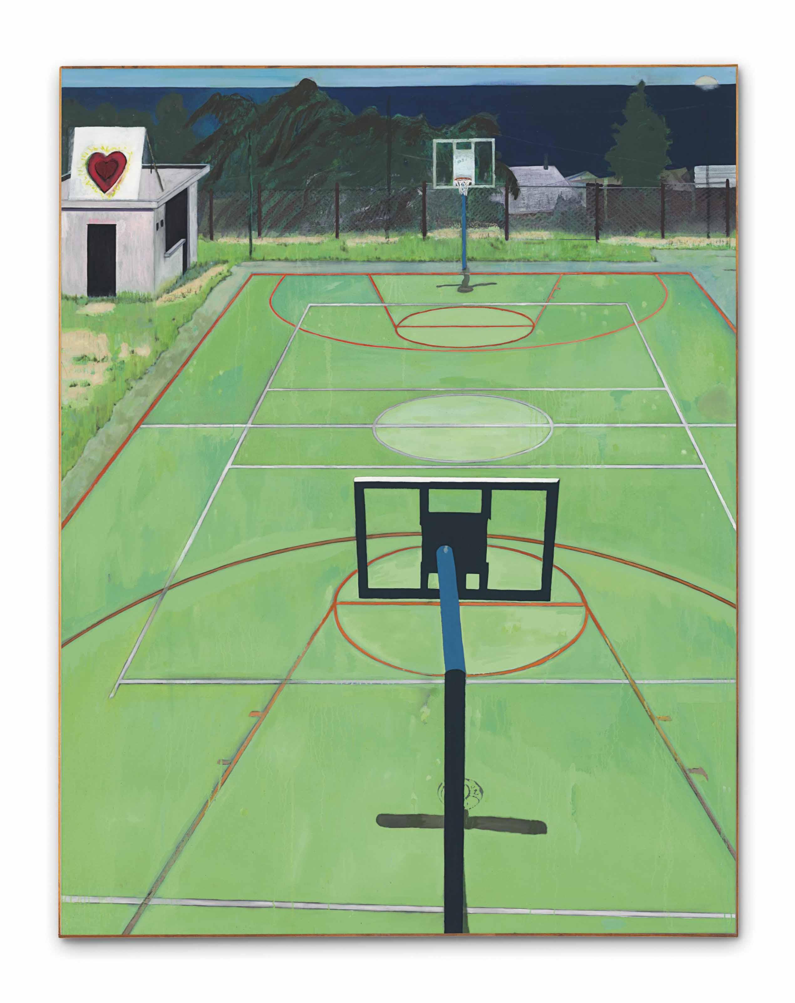 Sol Terrain De Basket peter doig (b. 1959) | the heart of old san juan | 1990s