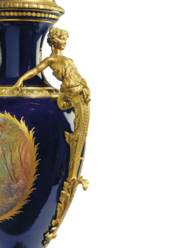 A PAIR OF ORMOLU-MOUNTED SÈVRE
