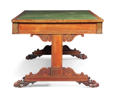 A GEORGE IV INDIAN ROSEWOOD AN
