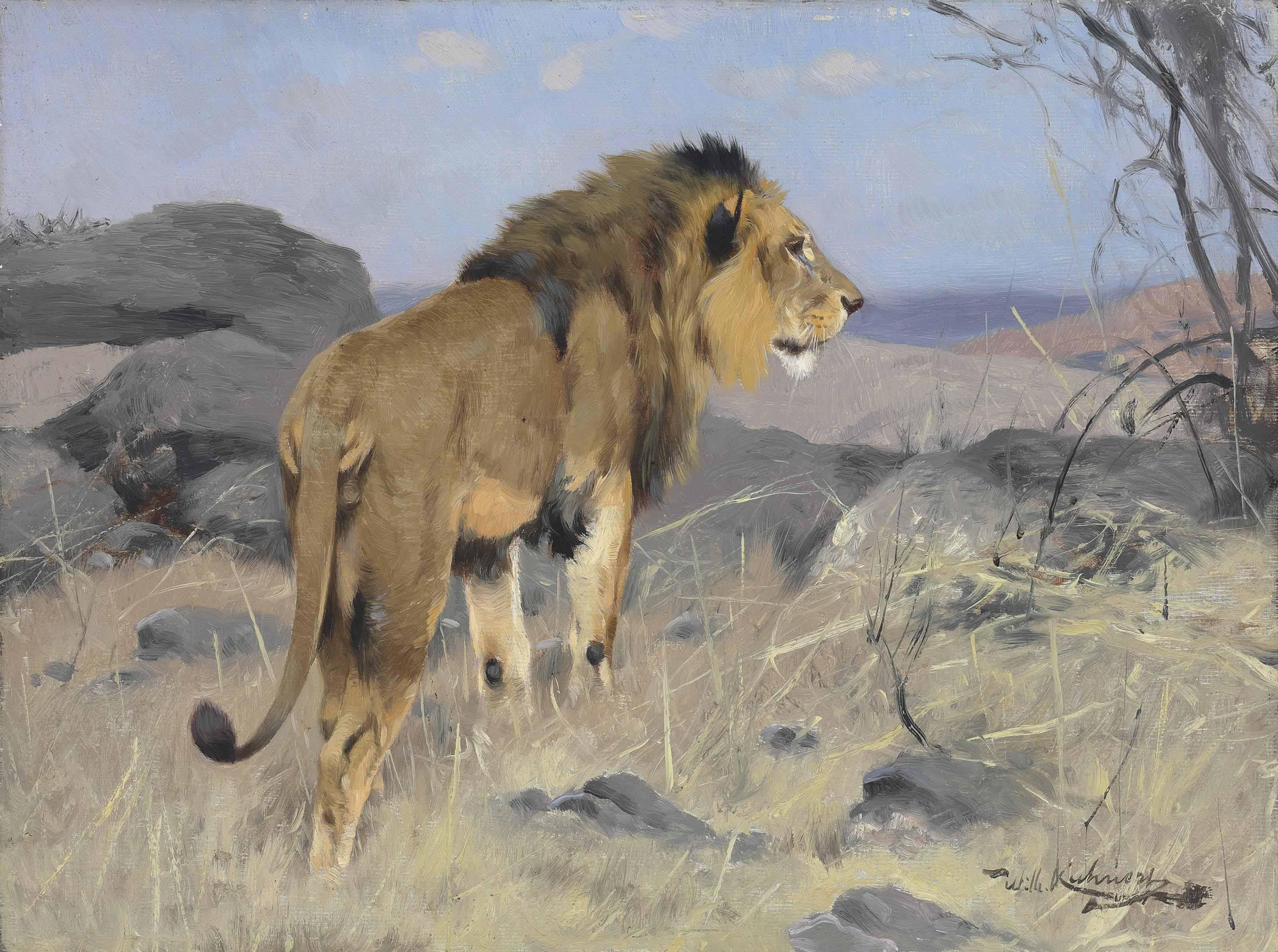 Wilhelm Kuhnert (German, 1865-
