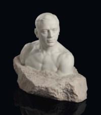 Bust of Leonid Sobinov (1872-1934)