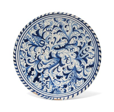 A DELFT BLUE AND WHITE BLUE-DA