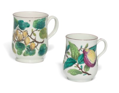 TWO BOW BOTANICAL BALUSTER MUG