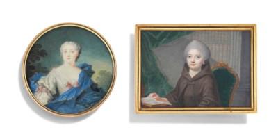 TWO 18TH CENTURY PORTRAIT MINI