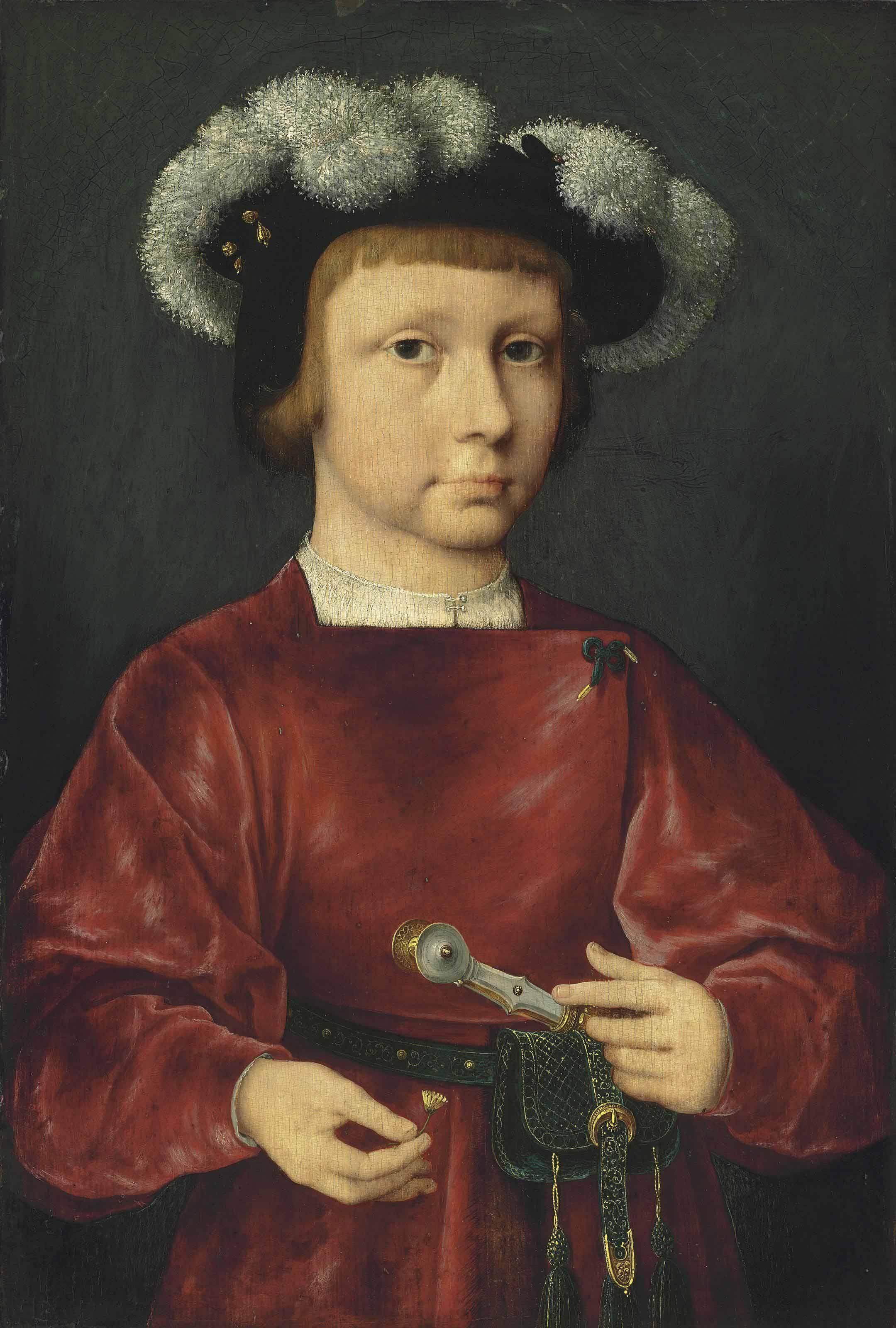 Joos van Cleve (?Cleve ?-1540/1 Antwerp)