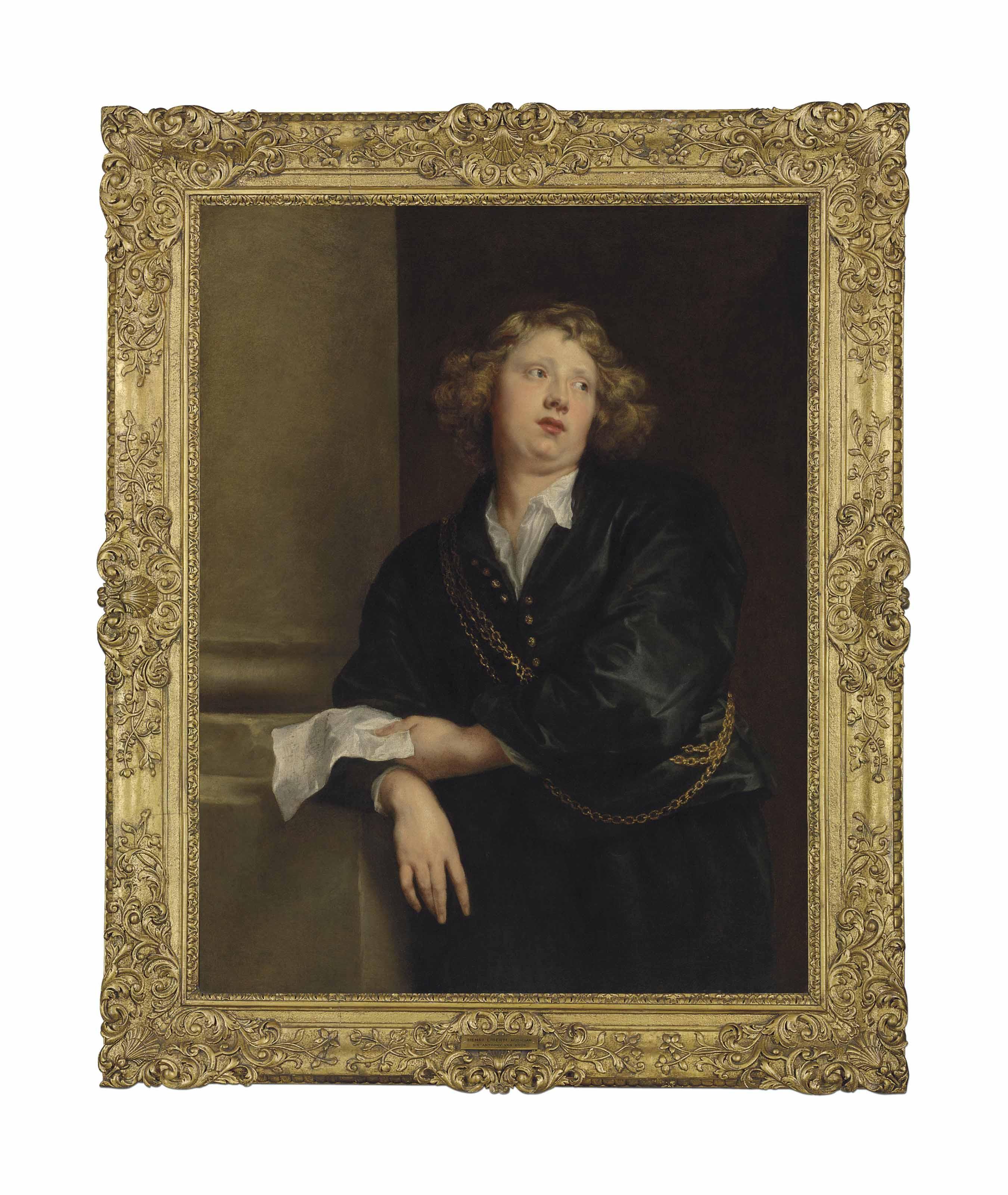 Audio: Sir Anthony van Dyck, Portrait of Hendrick Liberti (c. 1600-1669)