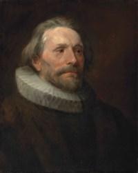 Head study of a man in a ruff