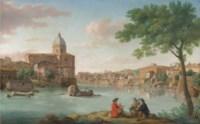 The Church of San Giovanni dei Fiorentini, on the Tiber, Rome