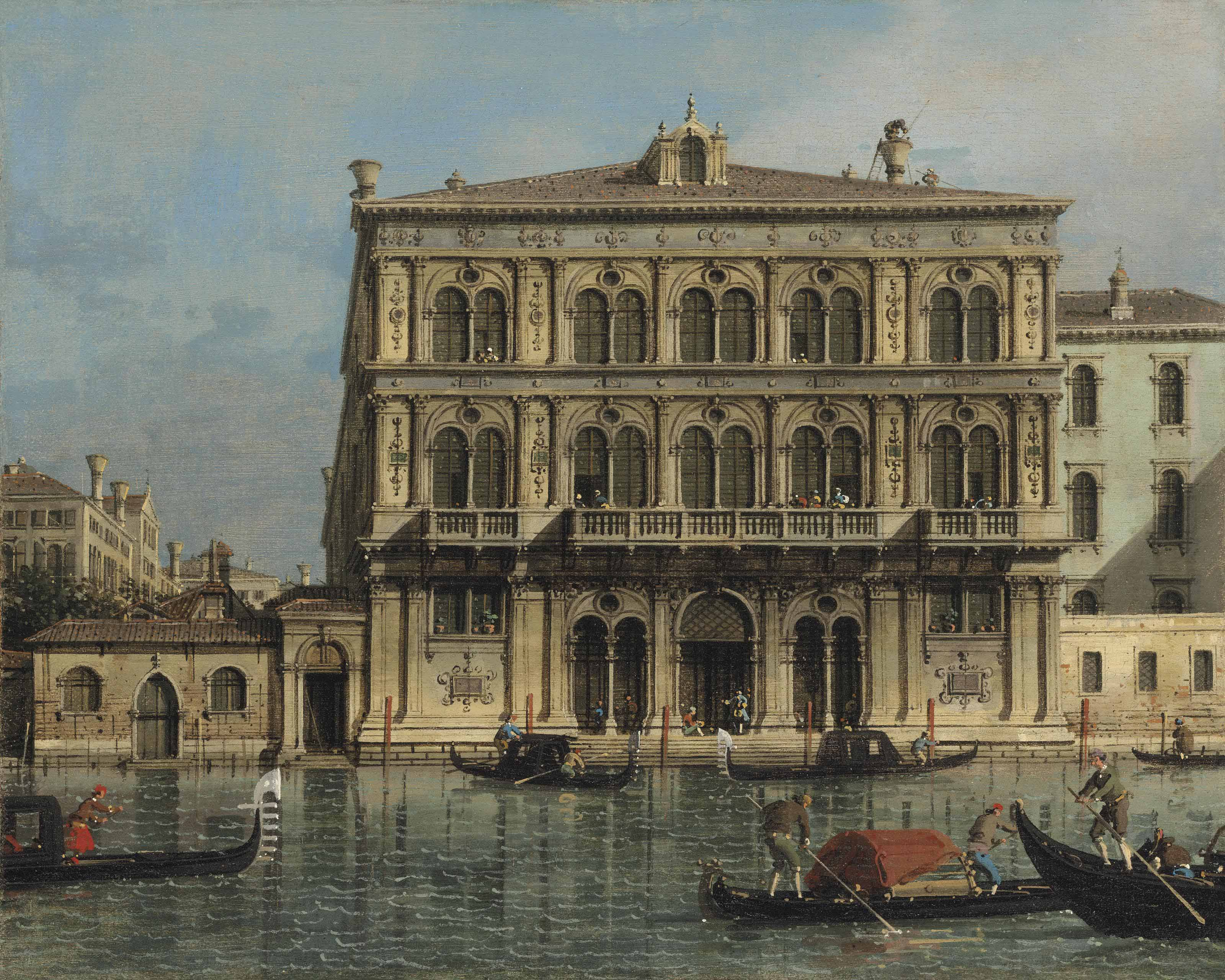 Palazzo Vendramin-Calergi, on the Grand Canal, Venice