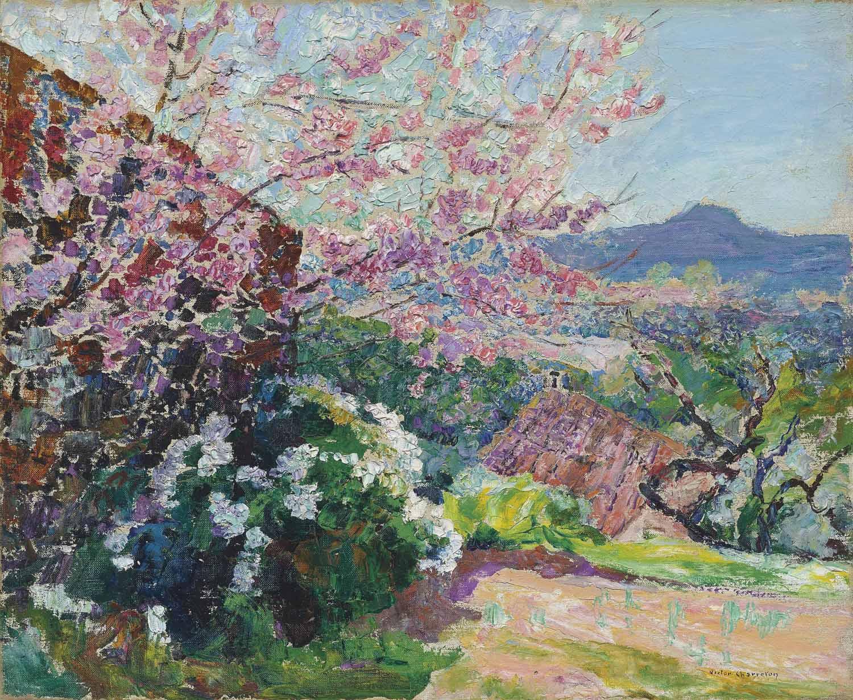 L'arbre en fleur