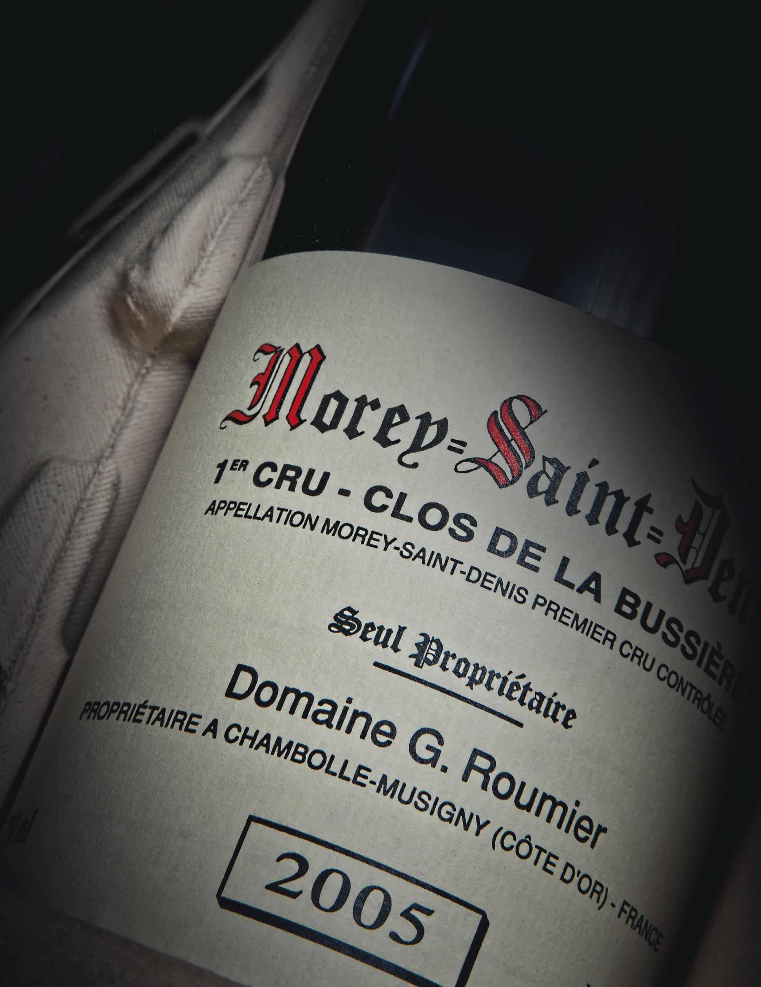 G Roumier, Morey-Saint-Denis Clos de la Bussière 2005