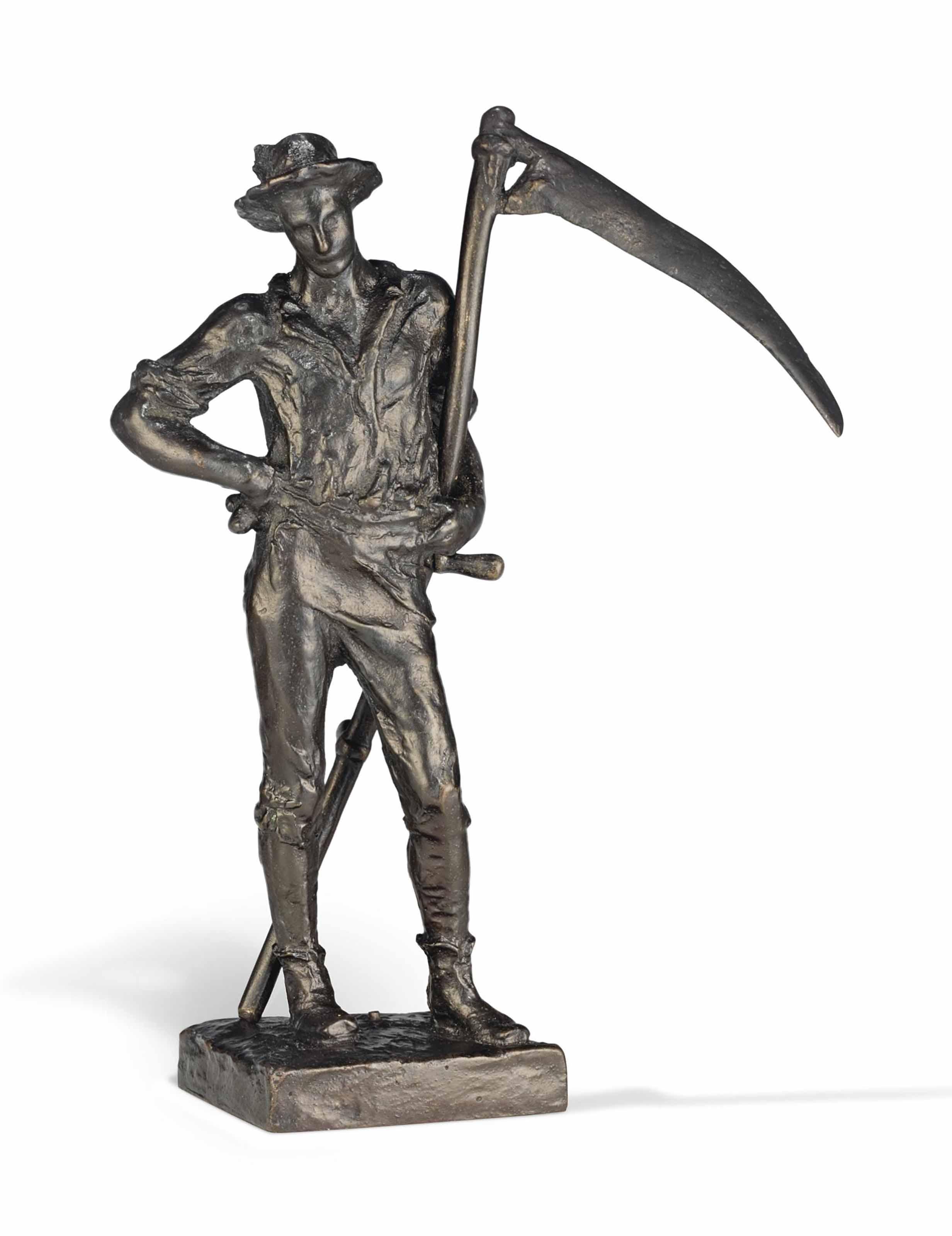 Sir William Hamo Thornycroft, R A  (1850-1925) | The Mower