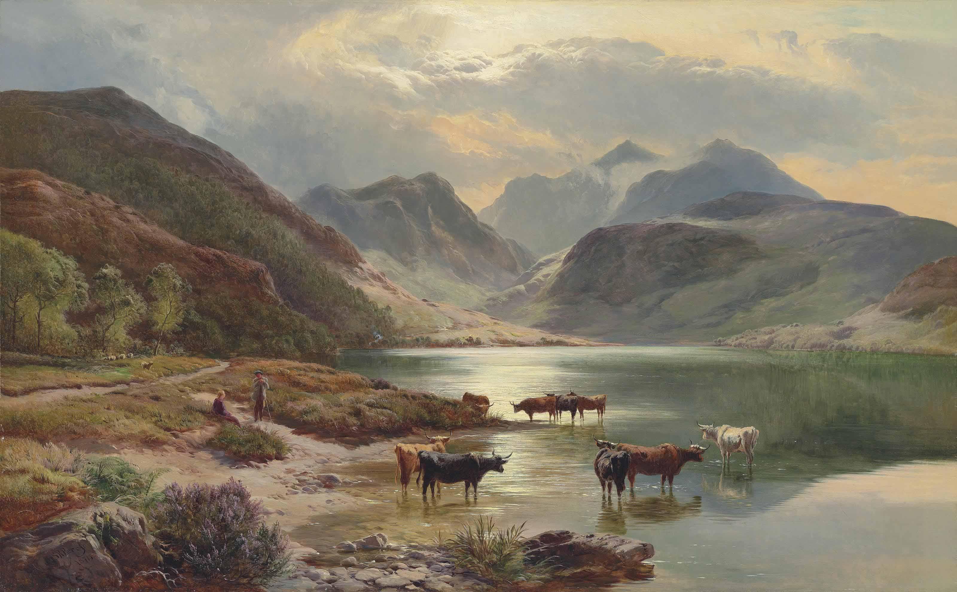 Glencoe from Loch Leven, Scotland