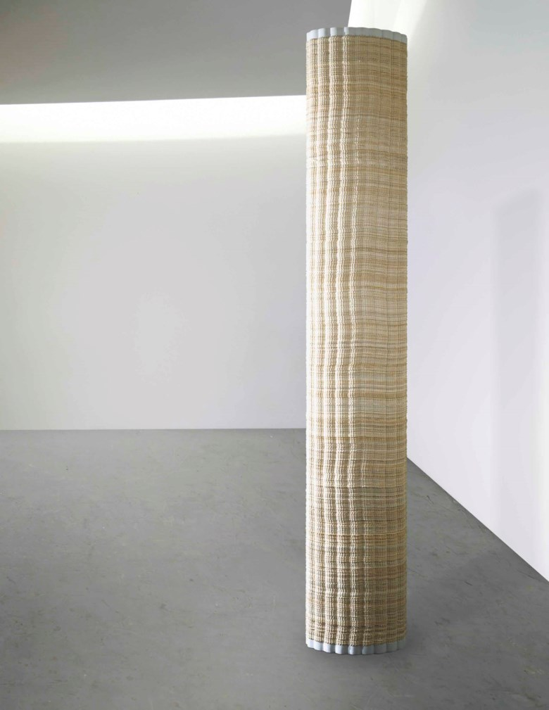 Alighiero Boetti (1940-1994), Colonna (Column), executed in 1968. 83⅛ x 14¼ x 9⅜ in (211 x 36 x 24 cm). Sold for £2,434,500 on 16 October 2014 at Christie's in London © DACS 2018