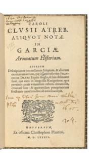 CLUSIUS, Carolus (1526-1609).
