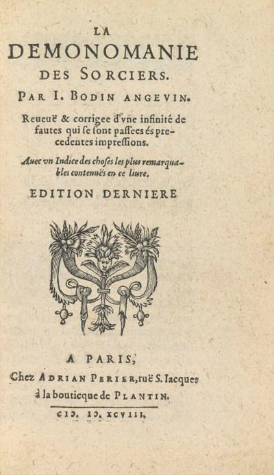 BODIN, Jean (1530-1596). La De