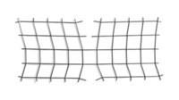 Struttura ortogonale assoggettata ai quattro vertici a tensione