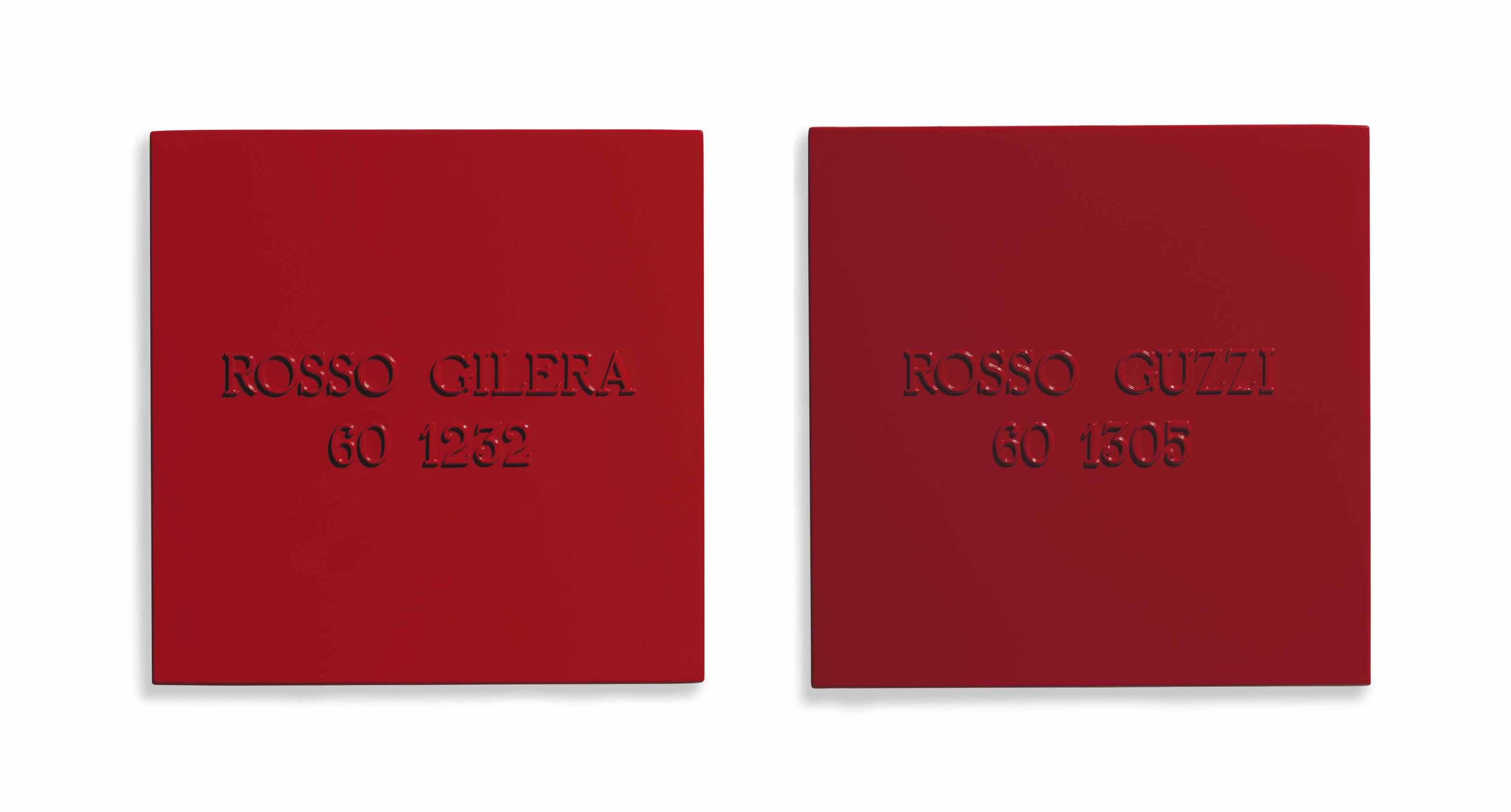 Rosso Gilera 60 1232 - Rosso Guzzi 60 1305