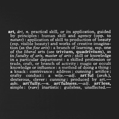 Joseph Kosuth (b. 1945)