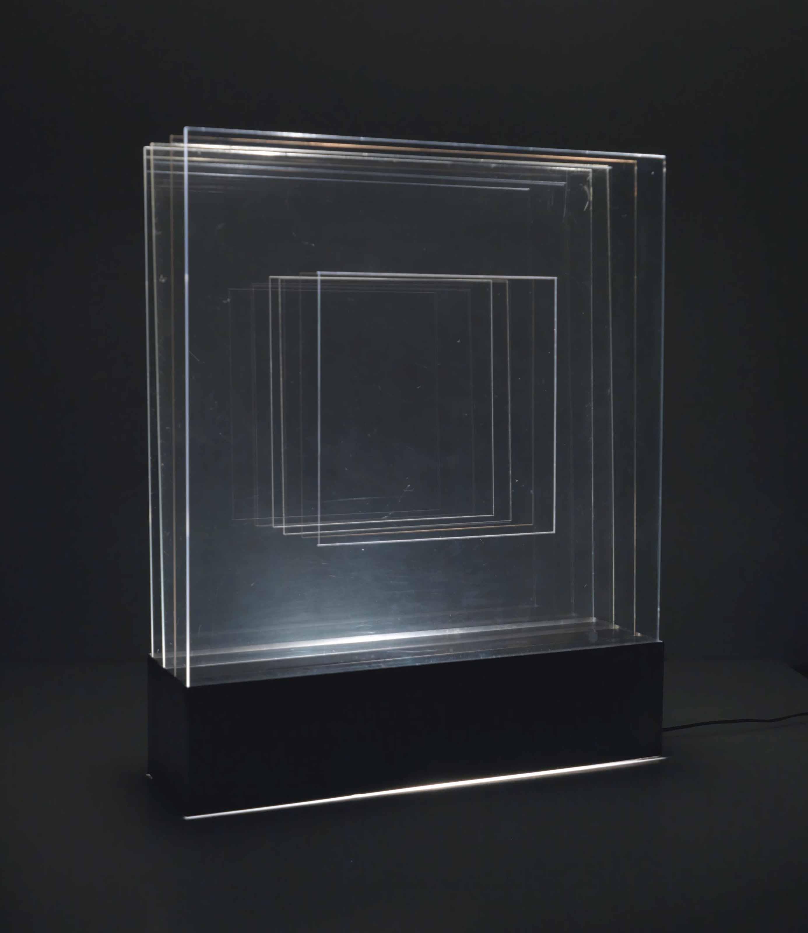 Strutturazione ritmica quadrato pulsante