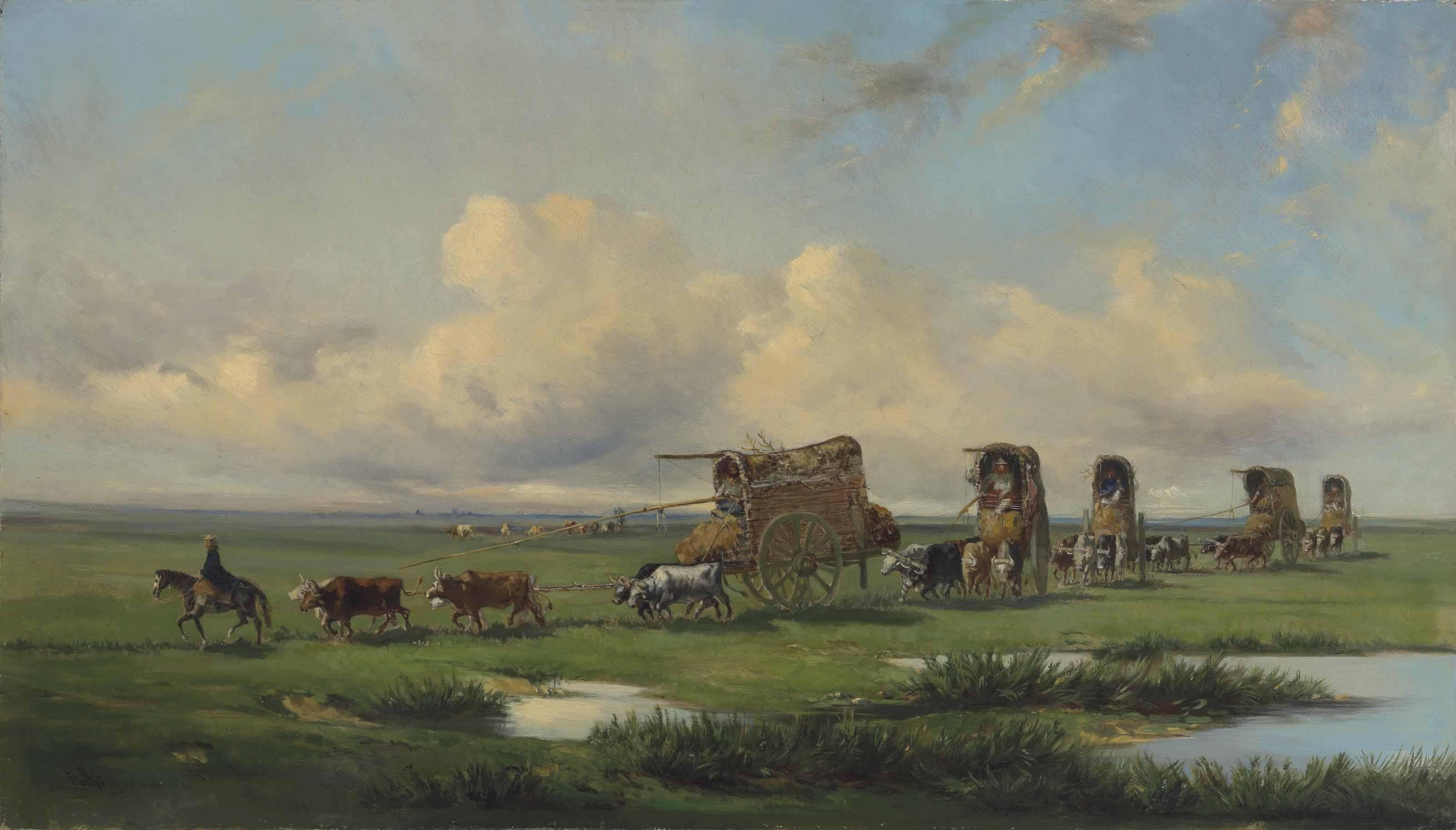 Jean Leon Pallière (1823-1887)