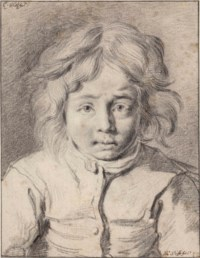 Portrait of a young boy, bust-length
