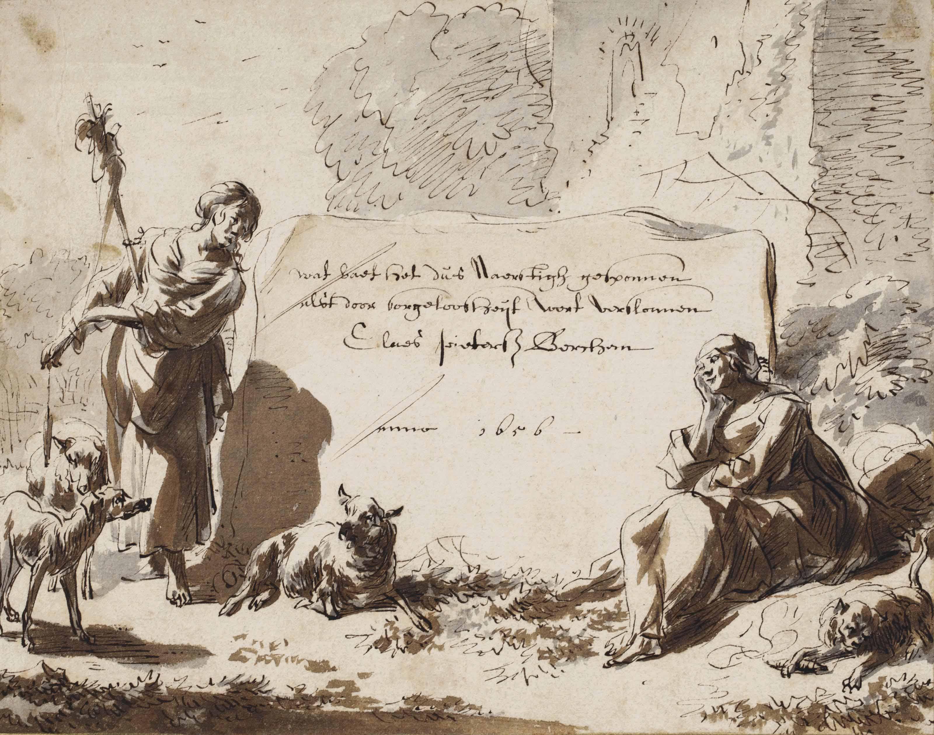 Nicolaes Pietersz. Berchem (Haarlem 1620-1683 Amsterdam)