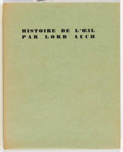 MASSON, André (1896-1987) -- [