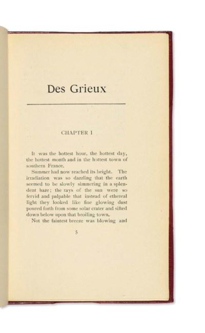 TELENY -- Des Grieux. (The Pre