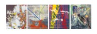 Ohne Titel (Sommerbilder I-IV) No. 1-4 (Untitled (Summer pictures I-IV) No. 1-4))