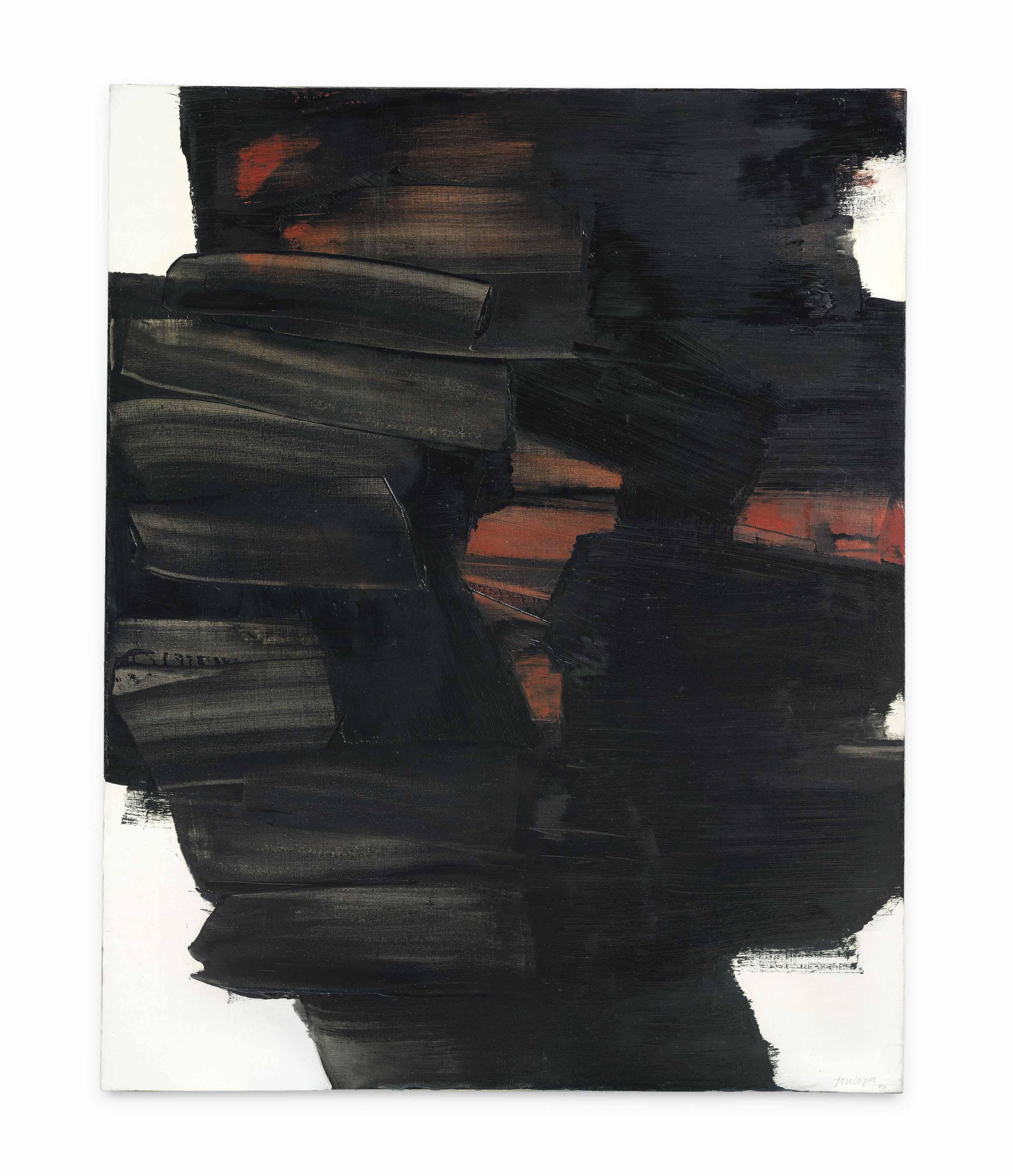 Peinture 162 x 130 cm, 26 mai 1963