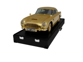A UNIQUE ONE-THIRD SCALE MODEL WITH 24K GOLD-PLATED DETAIL M