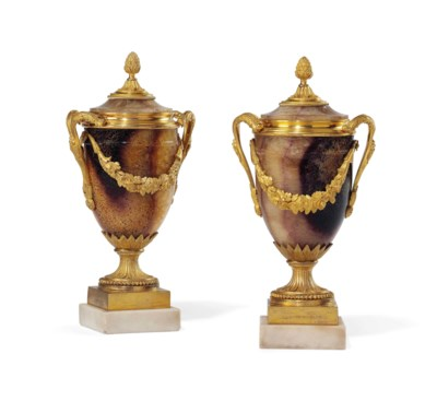 A PAIR OF GEORGE III-STYLE ORM