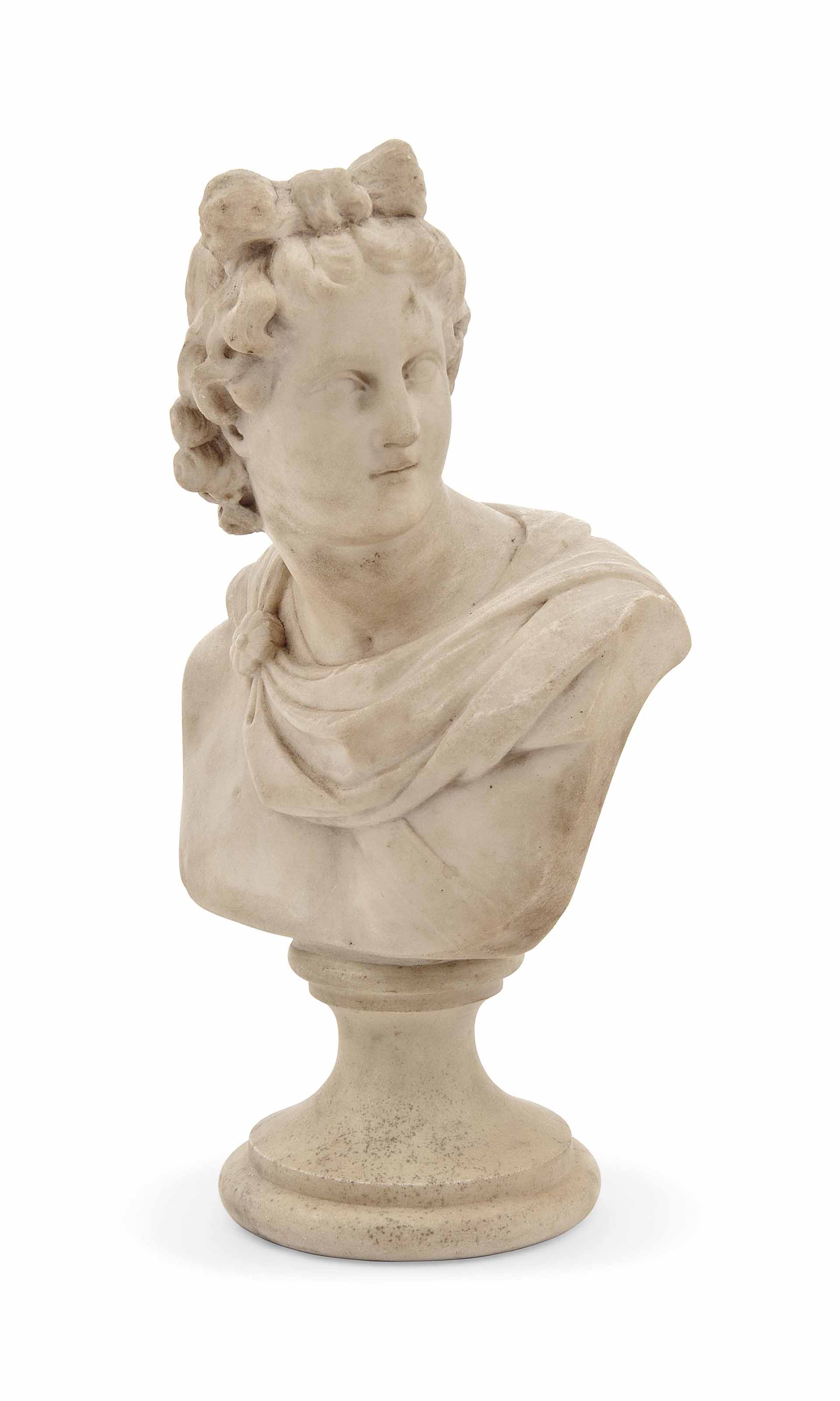 AN ENGLISH OR ITALIAN MARBLE B