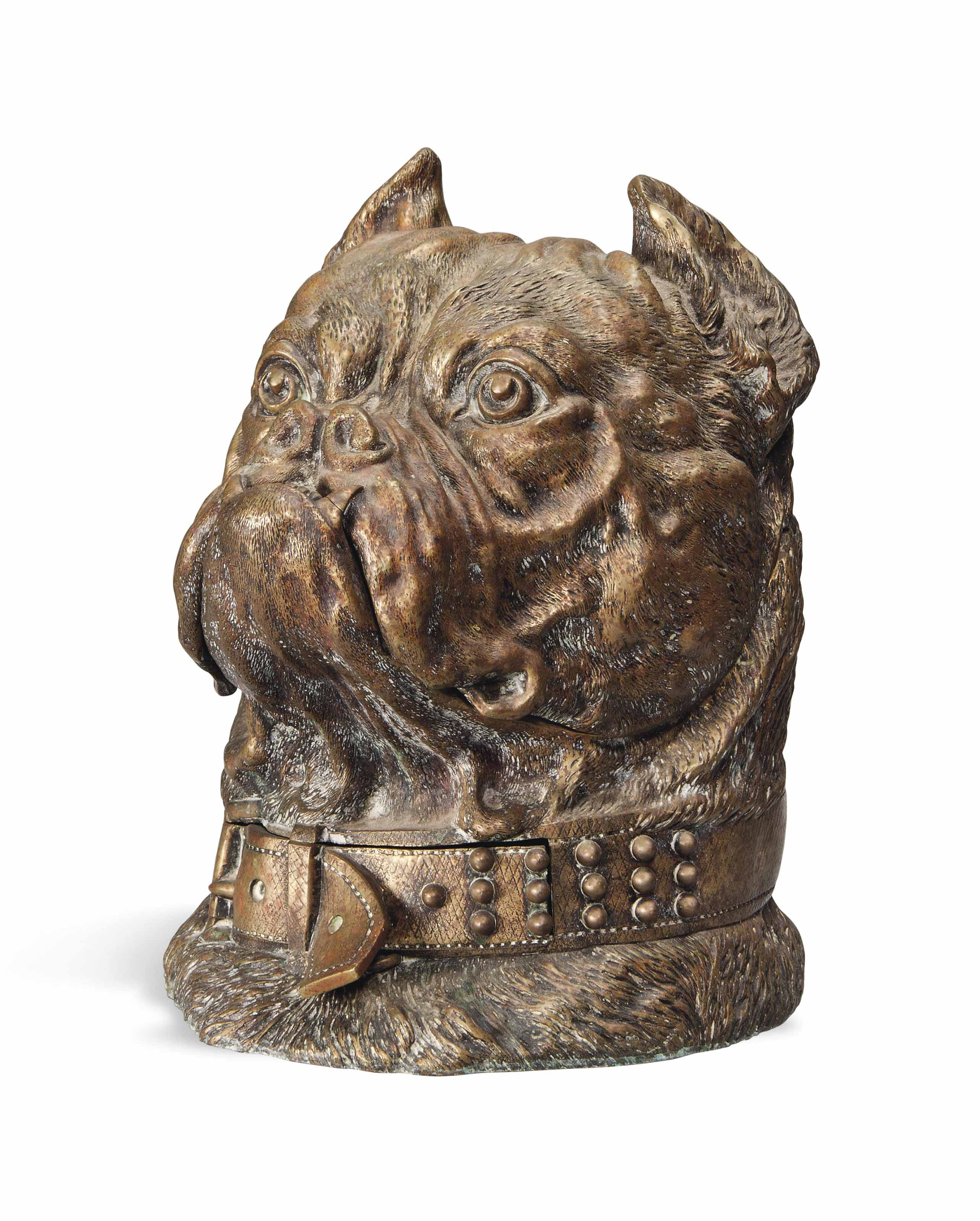A LARGE AUSTRIAN BULL-DOG'S HE