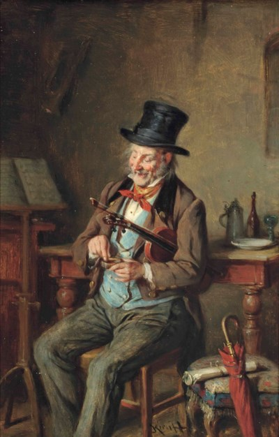 Hermann Armin Kern (German, 18