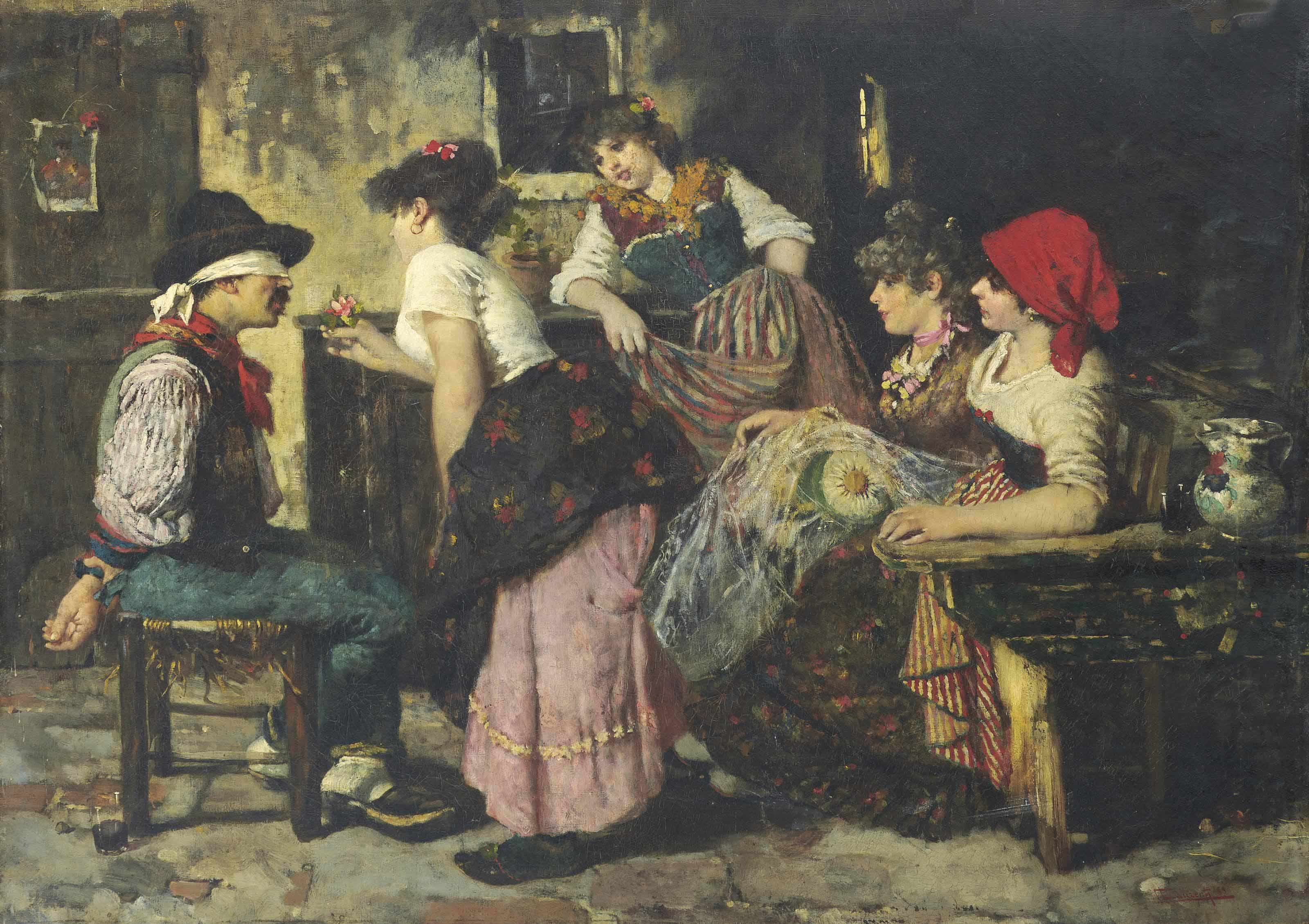 C. Lanzenti (Italian, 19th Century)