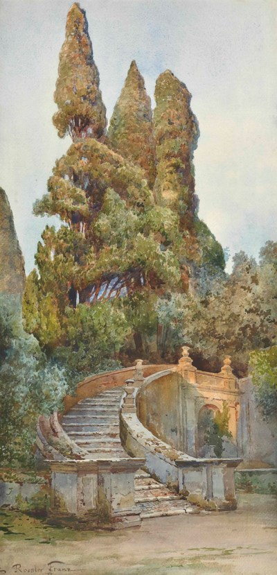 Ettore Roesler Franz (Italian,