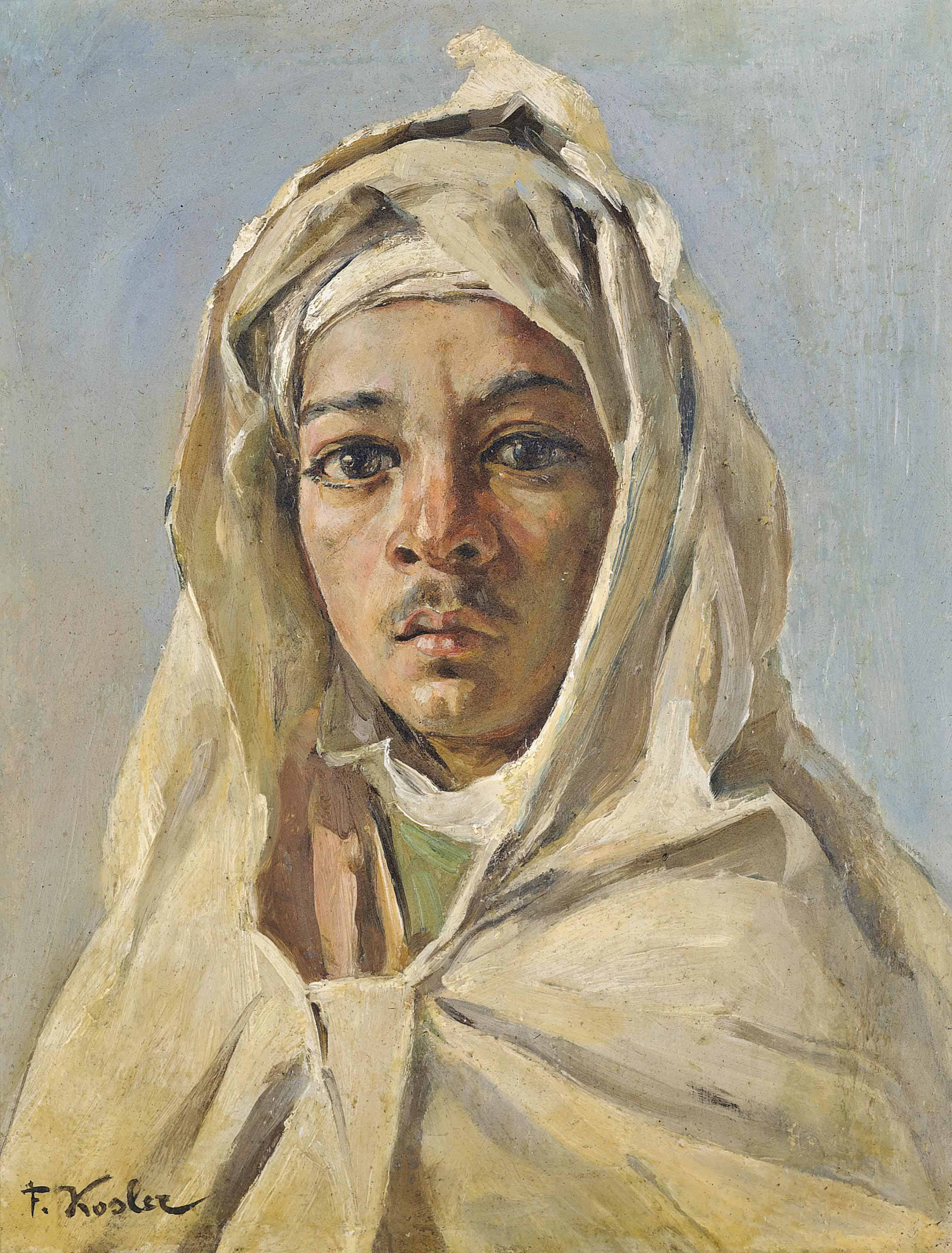 A young Bedouin
