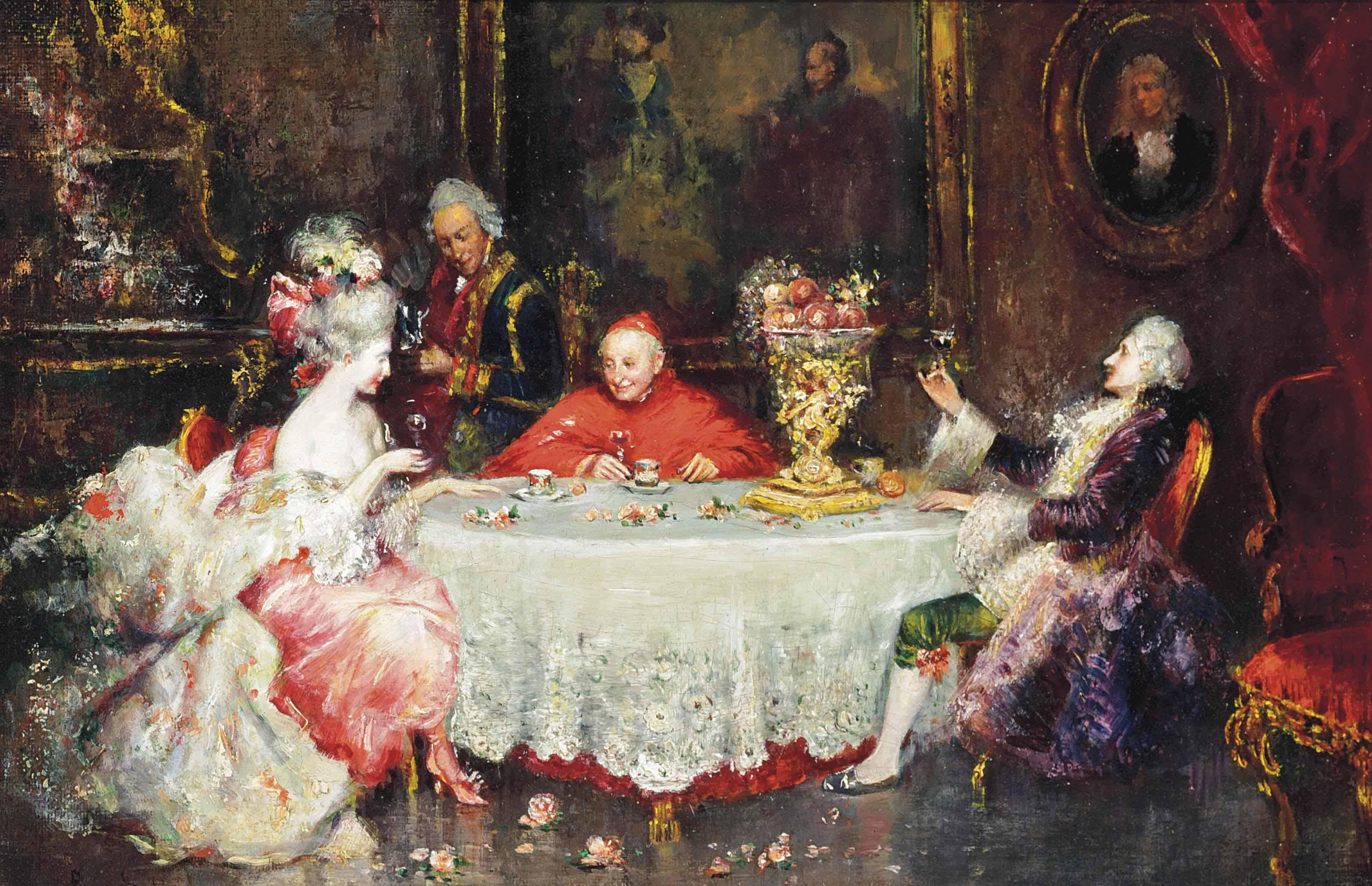 An evening with the Cardinal