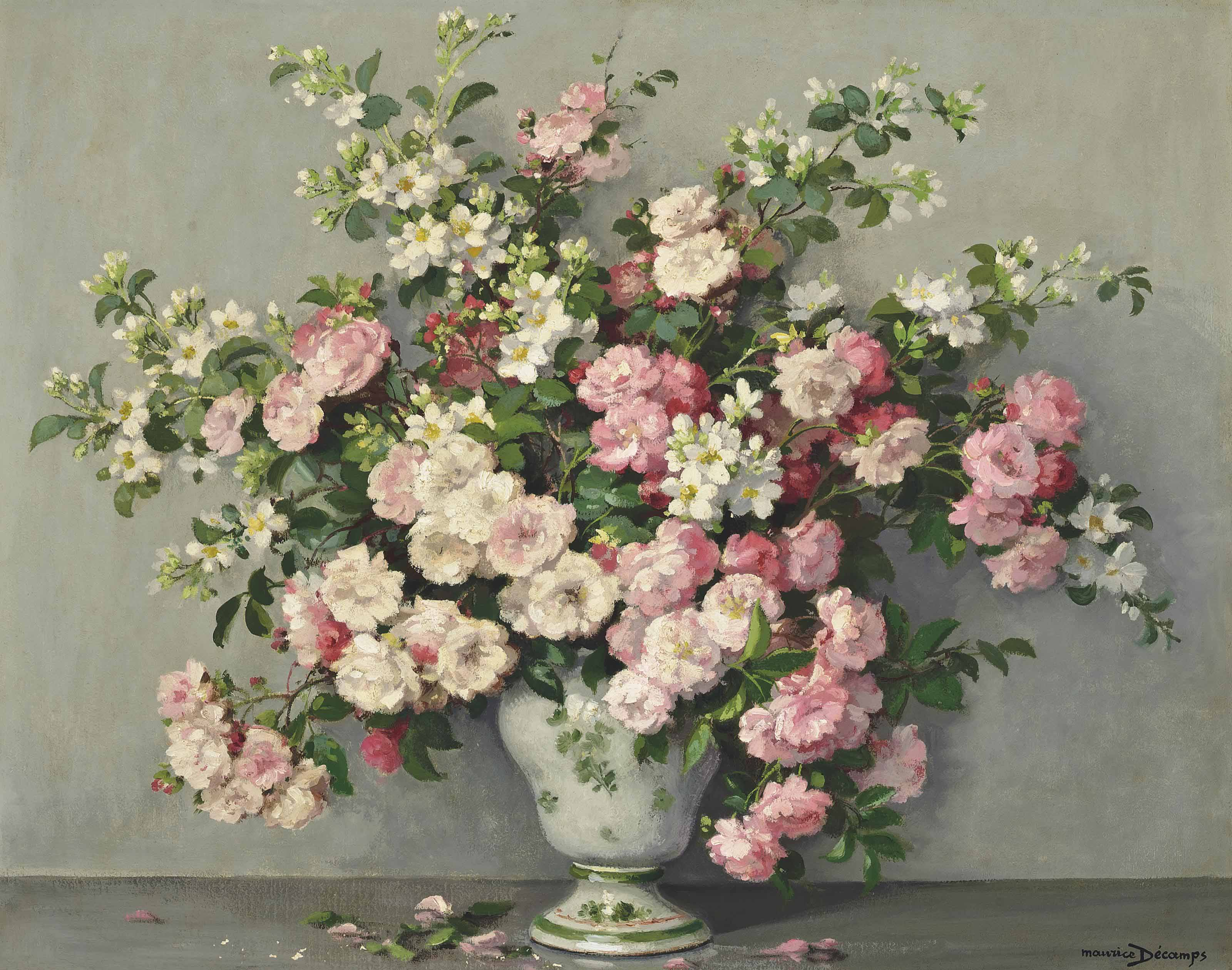 Rambling Roses in a vase