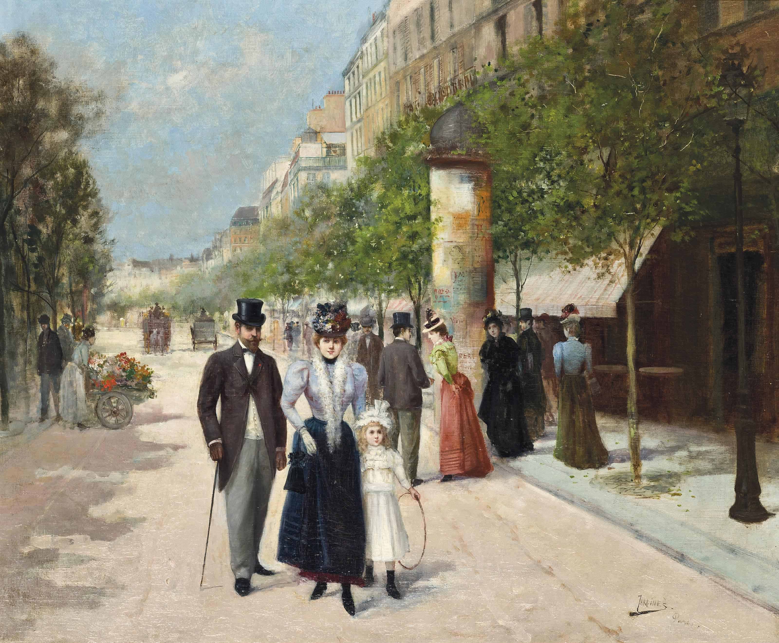 A stroll through the streets of Paris