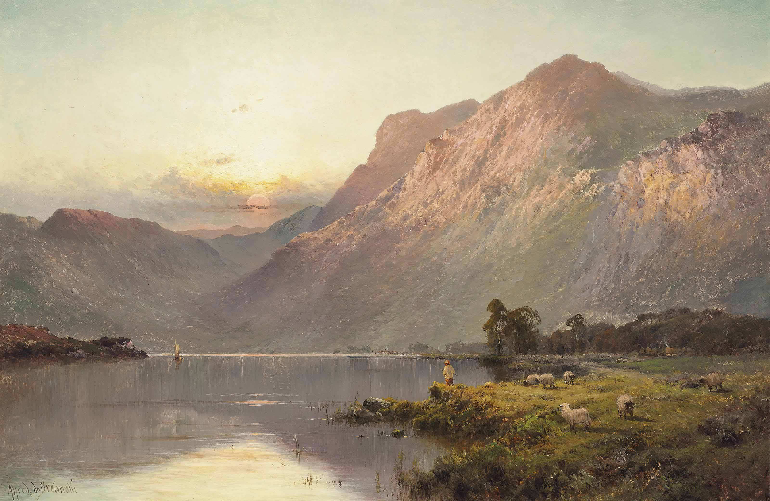 Loch Katrine, evening