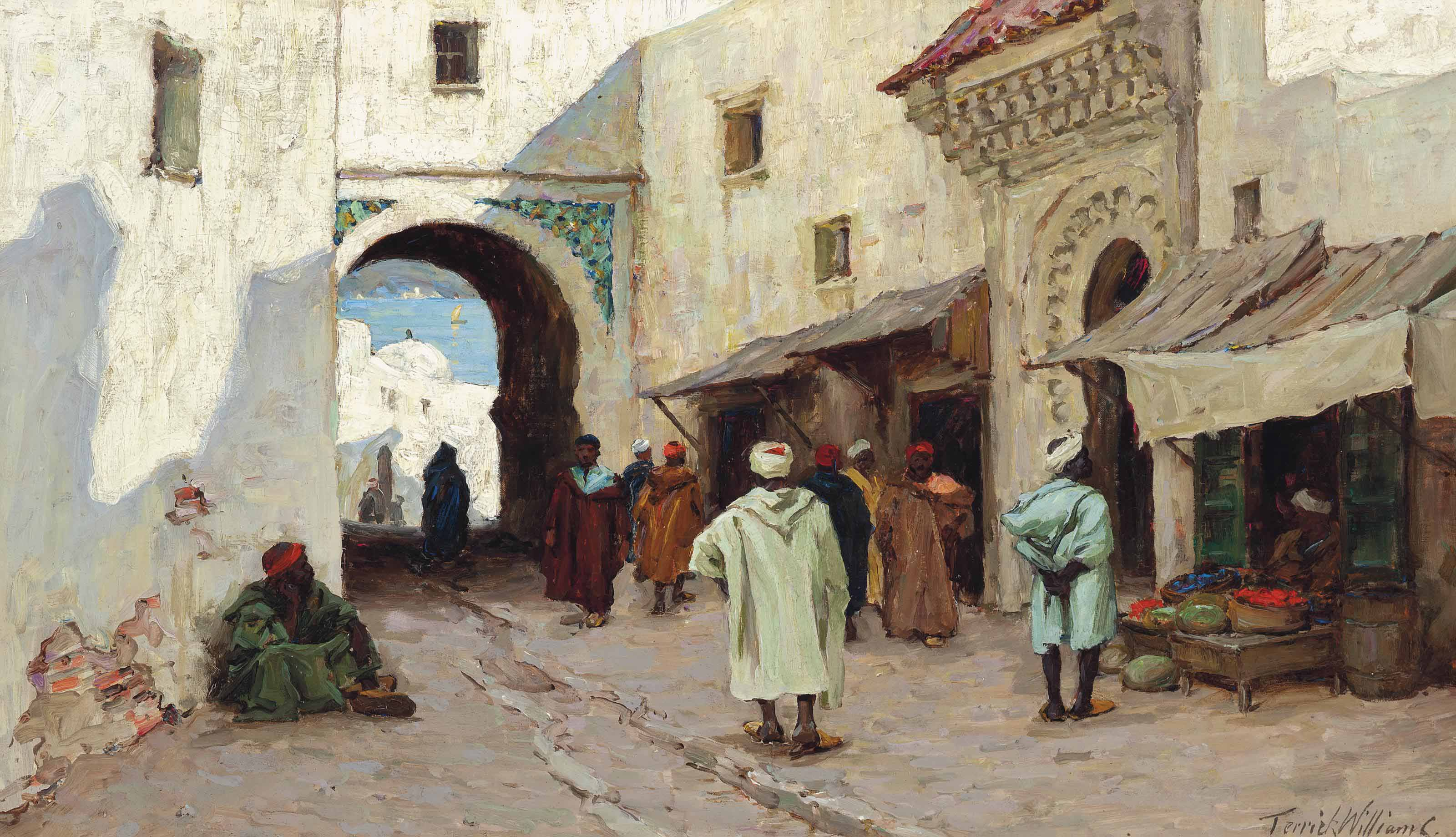 A shady street, Tangiers